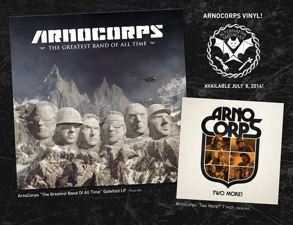 ArnoCorps vinyl re-release on Alternative Tentacles