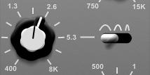 hornet sw34 2500Hz