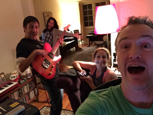 the gibbonses making a record with me